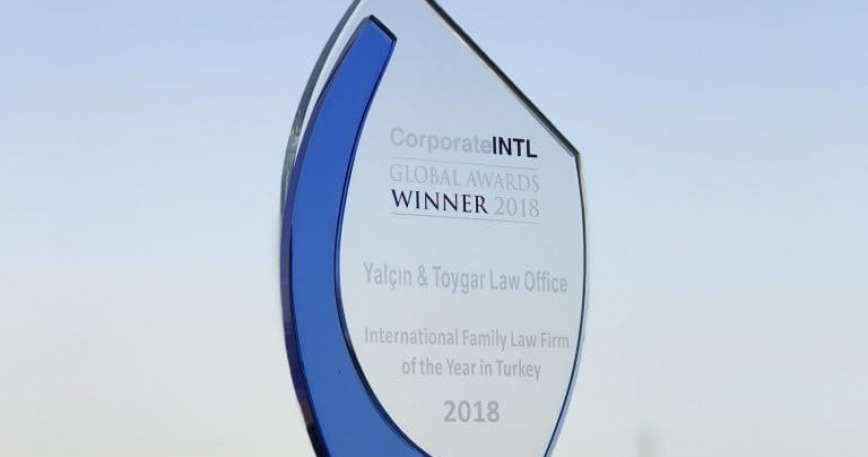 Award – International Family Law Firm of the Year in Turkey 2018