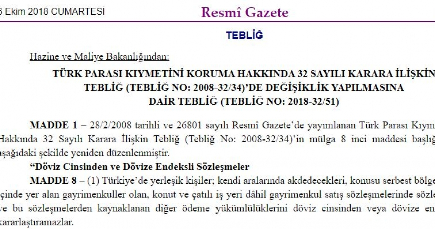 Decree No. 85 Amending Decree No. 32 about the Conversion of Foreign Exchange Contracts
